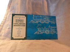 Vintage Historic Locomotives by Robert Kern Color Etch Prints 4