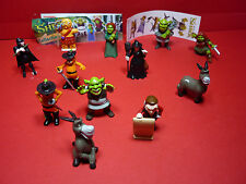 """Bip/ """"Shrek""""  Komplettsatz   Fremdfiguren  12 BPZ 12 Stikker"""