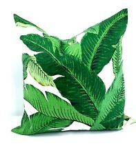 Palm Pillow cover.Fits  18x18 Pillow. Tommy Bahama. Made in USA.Indoor/Outdoor.