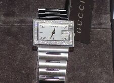 New women's Gucci white dial 0.75ct.aprx.custom set real Diamond Watch YA100506