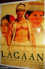LAGAAN : ONCE UPON A TIME IN INDIA  BOLLYWOOD POSTER # 5 AAMIR KHAN