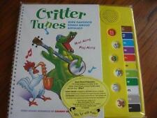 CRITTER TUNES KIDS' FAVORITE SONGS ABOUT ANIMALS SOUND BOOK NEW