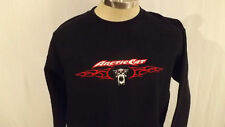 VTG Arctic Cat Snowmobile Sweatshirt sz Med, Nicely Embroidered Log
