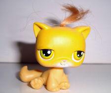 FIGURINE PETSHOP LITTLEST PET SHOP CHAT CAT GATO ROUX AVEC HOUPETTE