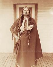 NATIVE AMERICAN INDIAN PHOTO VINTAGE COMANCHE CHIEF QUANAH PARKER 1892 #21063