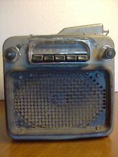 Delco Sonomatic Mid-50's Buick Car Tube Radio, Push Button Model 981651