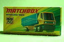 Modellauto - Matchbox - Superfast - Nr. 50 Articulated Truck - OVP