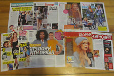 Lindsay Lohan, Lot of SEVEN Clippings
