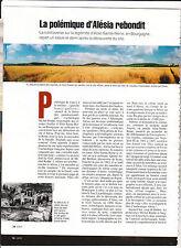 Alésia la polémique - Syam -Oppidum du  Jura . Berthier. 12 pages Géo mag  2003