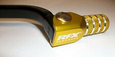 DRZ 400 S E SM 00-17 Forged Trick Gear Lever Pedal Black/Yellow Tip Enduro