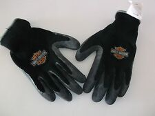 New Harley-Davidson Gloves with Natural Rubber Coating Size Small (F44F)