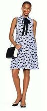 "$378  KATE SPADE ""Cats and Cream"" Cat Print Tiered Dress sz.6 ADORABLE!!!"