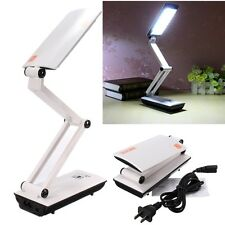 Pratique Pliable LED Rechargeable Lampe de Bureau Table Pr Etude Travail Chambre