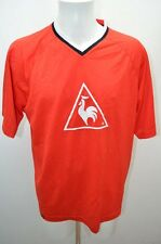 LE COQ SPORTIF MAILLOT T SHIRT FOOT FOOTBALL JERSEY XXL ROUGE