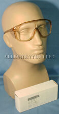 Bouton 8800 Panaspec Z87 UV Safety GLASSES GOGGLES Brown Nerd Punk  Specs NEW