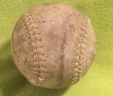 Antique ~ Baseball ~ Leather ~ Softball ~ Figure Eight ~ 12 Inches
