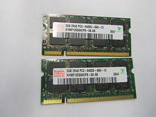 4G (2 x 2GB) NAME BRAND Memory DDR2 SO-DIMM 2Rx8 PC2-6400S FOR LAPTOPS