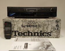 TECHNICS sj-md150 High End Mini Disc Recorder Player FB BDA 12 mesi gewährl.