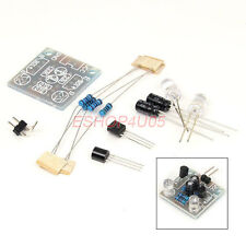 DIY Kit 5MM LED Simple Flash Light flash Circuit Production Suite PCB+Components