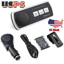 Bluetooth USB Multipoint Speaker Handsfree Car Kit Speakerphone For Smartphone