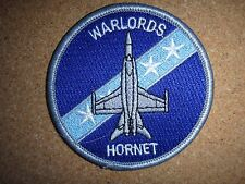 US Air Force WARLORDS HORNET Bomber Merrow Edge Patch