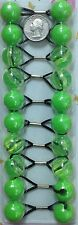 tie lime green  jumbo beads hair Knocker girl Scrunchie Balls Ponytail Holder