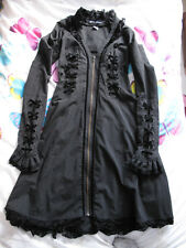 Spindoctor Long Pinstripe Victorian Steampunk Style Coat Size M