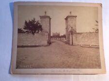 VINTAGE PHOTOGRAPH CITY GATES ST AUGUSTINE FLORIDA FL SAINT LARGE BUILDING 1900s