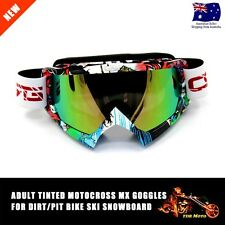 Unisex Goggles Adult anti-fog UV protection MX dirt Snow Ski ATV bike Snowboard