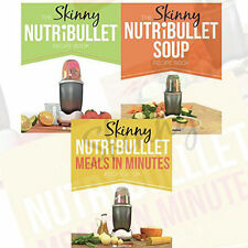 Skinny Nutribullet Collection (Meals in Minutes Recipe,Soup Recipe) 3 Books Set