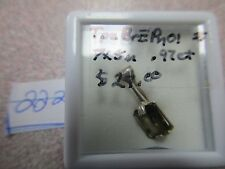BEAUTIFUL BROWN TOPAZ EMERALD CUT STERLING SILVER PENDENT ONLY GORGEOUS