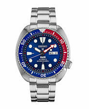 New Seiko Padi Automatic Prospex Pepsi Turtle Divers 200M Men's Watch SRPA21