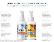 Results RNA ACS 200 ACZ NANO Total Body Detox- 4 oz Kit