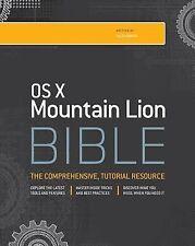 OS X Mountain Lion Bible, Gruman, Galen, New Book
