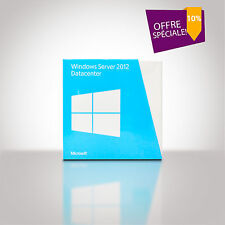 Windows Server 2012 Datacenter 64 Bit - Boîte Retail  avec DVD
