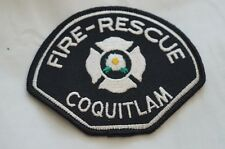 Canadian Fire Rescue Coquitlam Patch Obsolete