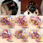 50pcs Rubber Band Cute Elastic Hair Bands Kids Girls Hair Accessories