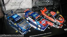 CLASSIC 1/43 2008 BATHURST 1-2-3 FINISH WHINCUP LOWNDES MURPHY COURTNEY SET
