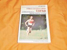 il libro completo della corsa footing jogging running consigliato  bob anderson