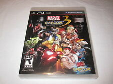 Marvel vs Capcom 3: Fate of Two Worlds (Playstation PS3) Complete LN Mint!