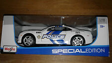 2010 Chevrolet Camaro SS RS Police Car 1:18 Scale DieCast New In Box Great Grift