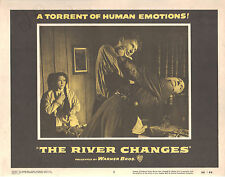 The River Changes 1956 11x14 Lobby Card #3