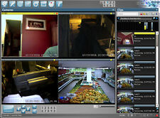 BlueIris Ver 4 Surveillance, Monitoring and DVR Software - Professional Edition