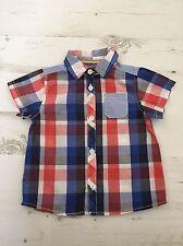 Mamas & Papas Baby Boys Checked Shirt 9-12 Months