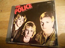 THE POLICE OUTLANDOS D´AMOUR 10 TRACKS CD ALBUM MADE IN FRANCE AAD POL 899 RARE