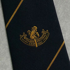 WILLIAM YOUNGER CUP 1983 TIE 1980s CRICKET NAVY TOYE KENNING SPENCER VINTAGE