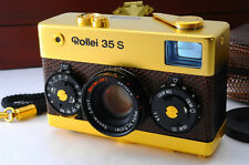 [Rare] Rollei 35S Gold Golden 60th Anniversary + BOX & Case -NearMint (A-101)