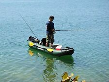 INFLATABLE DINGHY RIGID INFLATABLE DINGHY INFLATABLES BOAT KAY FISHING ROD &REEL