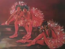 "African American Art Annie Lee ""Toes Shoes ""/Ballet Print/Liquidation Sale"