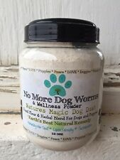 100% Natural Daily Dog De-Wormer and Wellness Powder FREE SHIPPING